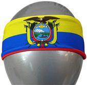 Svforza Ecuador Country Flag Headbands
