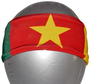 Svforza Cameroon Country Flag Headbands