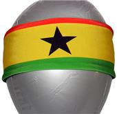 Svforza Ghana Country Flag Headbands