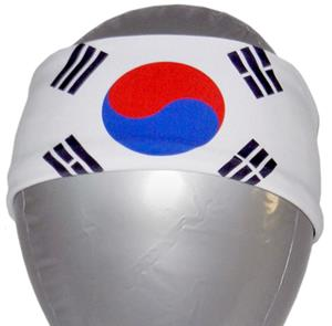 Svforza Korea Republic Country Flag Headbands