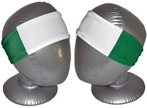 Svforza Nigeria Country Flag Headbands