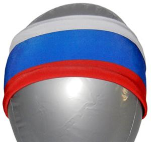 Svforza Russia Country Flag Headbands