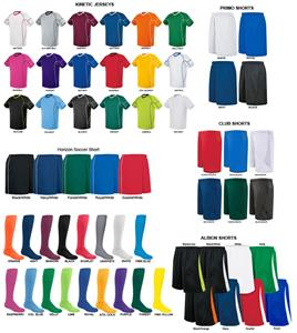 High Five KINETIC Soccer Jersey Uniform Kits