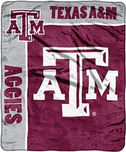 NCAA Texas A&M School Spirit Raschel Throw