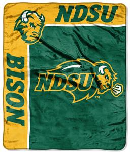 NCAA North Dakota St School Spirit Raschel Throw