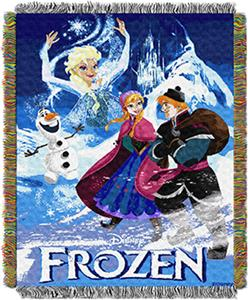 Northwest Disney Frozen Story book Throw Tapestry