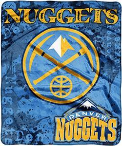 Northwest NBA Nuggets Raschel Dropdown Throw