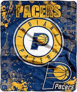 Northwest NBA Pacers Raschel Dropdown Throw