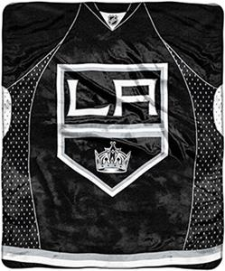 Northwest NHL LA Kings Raschel Jersey Plush Throw