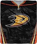 Northwest NHL Ducks Raschel Jersey Plush Throw