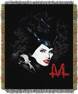 Northwest Disney Maleficent Dark Queen Throw