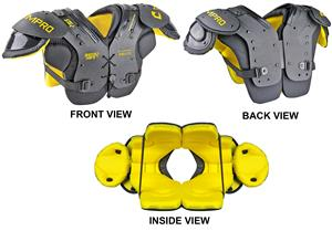 Champro Youth Shockwave Football Shoulder Pads