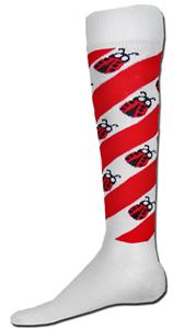 Red Lion Ladybug Tornado Over-the-Calf Socks