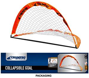 Champro 6' x 4' Fold-Up Soccer Goals