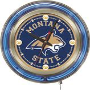 "Holland Montana State Univ 15"" Neon Logo Clock"
