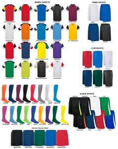 High Five Mundo Soccer Jersey Uniform Kits