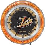 "Holland NHL Anaheim Ducks 19"" Neon Logo Clock"