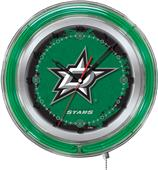 "Holland NHL Dallas Stars 19"" Neon Logo Clock"