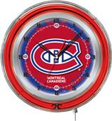 "Holland NHL Montreal Canadiens 19"" Neon Logo Clock"