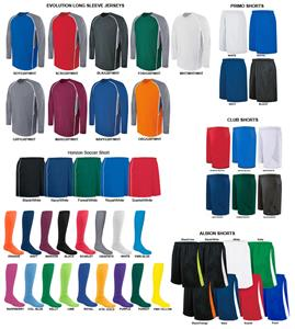 High Five EVOLUTION LS Soccer Jersey Uniform Kits