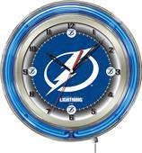 "Holland NHL Tampa Bay Lightning 19"" Neon Clock"