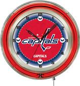 "Holland NHL Washington Capitals 19"" Neon Clock"