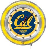 "Holland University of California Neon 19"" Clock"