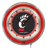 "Holland University of Cincinnati Neon 19"" Clock"