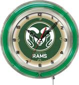 "Holland Colorado State University Neon 19"" Clock"