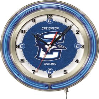 "Holland Creighton University Neon 19"" Clock"