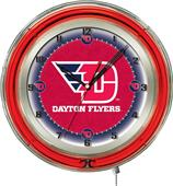 "Holland University of Dayton Neon 19"" Clock"