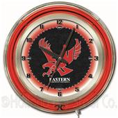 "Holland Eastern Washington Univ Neon 19"" Clock"