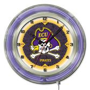 "Holland East Carolina University Neon 19"" Clock"