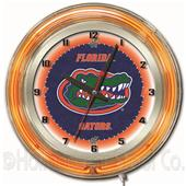 "Holland University of Florida Neon 19"" Clock"