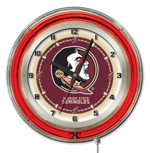 "Holland Florida State ""Head"" Neon 19"" Clock"