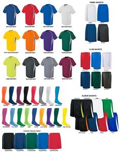 High Five EVOLUTION SS Soccer Jersey Uniform Kits
