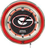 "Holland University of Georgia ""G"" Neon 19"" Clock"