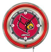 "Holland University of Louisville Neon 19"" Clock"