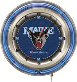 "Holland University of Maine Neon 19"" Clock"