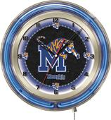 "Holland University of Memphis Neon 19"" Clock"