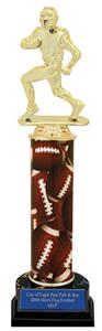 Hasty Awards Football Column Trophies