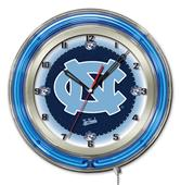 "University of North Carolina Neon 19"" Clock"