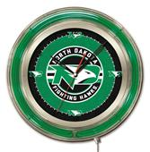 "University of North Dakota Neon 19"" Clock"