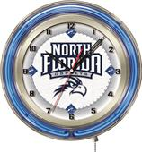 "Holland University of North Florida Neon 19"" Clock"