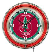 "Holland Stanford University Neon 19"" Clock"