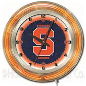 "Holland Syracuse University Neon 19"" Clock"