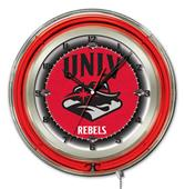 "University of Nevada Las Vegas Neon 19"" Clock"
