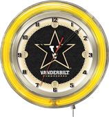 "Holland Vanderbilt University Neon 19"" Clock"