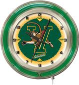 "Holland University of Vermont Neon 19"" Clock"