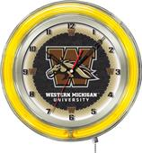 "Holland Western Michigan University Neon 19"" Clock"